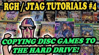 RGH / JTAG TUTORIALS # 4 - COPYING DISC GAMES IN AURORA / FREESTYLE + HOW TO UPDATE GAMES