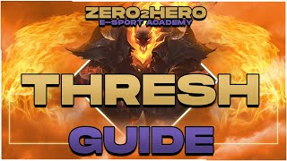 Tippek \u0026 Trükkök: Thresh - League of Legends tutorial - Adam Kiss \u0026 Z2H