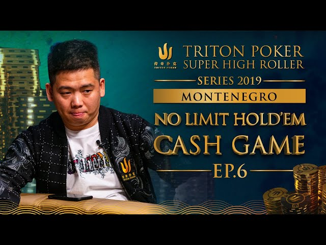 NLH Cash Game Episode 6 - Triton Poker SHR Montenegro 2019