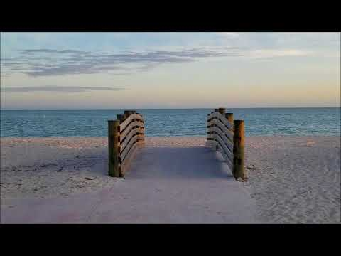 Sombrero Beach in Marathon, Florida Keys four months after hurricane Irma