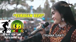 Download Lagu Terdiam Sepi Ska Jandhut Triana Santi Wonk Netral Live Pt Gsip Amr MP3