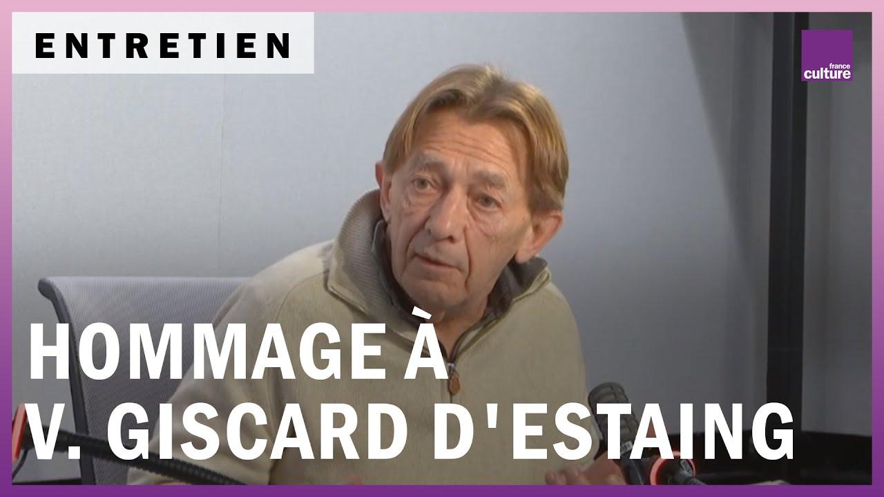 Hommage à VGE avec Gérard Courtois, Raymond Depardon, Hervé Morin, Dominique Bussereau