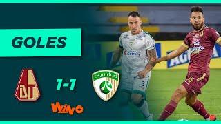 Tolima vs. La Equidad (1-1)   Liga BetPlay Dimayor 2021-1 - Semifinal - Ida