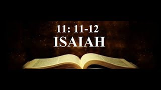 Isaiah11: 11 Where are the True Hebrews?