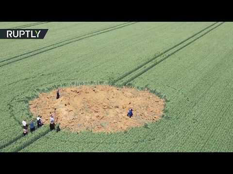 انفجار قنبلة تعود للحرب العالمية الثانية في إحدى المزارع الألمانية  - نشر قبل 2 ساعة