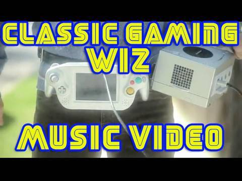 Keith Apicary  Classic Gaming Wiz Music Video