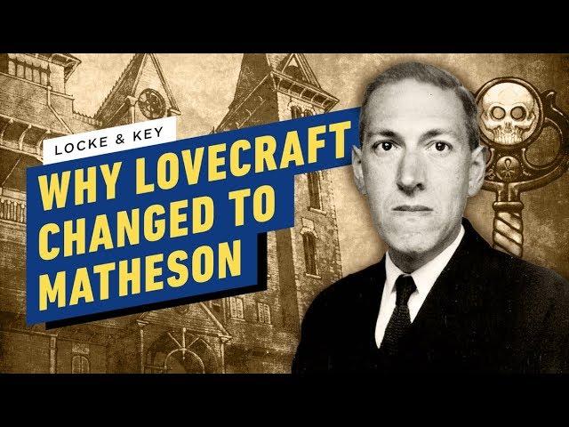Warum hat Locke & Key Lovecraft für die Netflix Show entfernt? + video