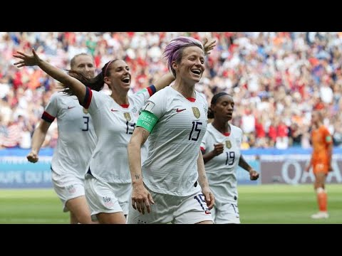 The United States beat the Netherlands 2-0 to win women's World Cup