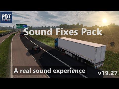 Sound Fixes Pack v 19 34   ETS 2 mods