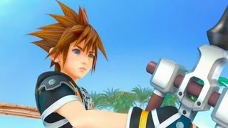 Official Kingdom Hearts 3 PlayStation 4 trailer PS4 E3 2013 Sony Square Enix Disney