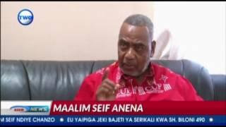 """Simtambui Lipumba sio M/kiti wa CUF"" Maalim Seif"