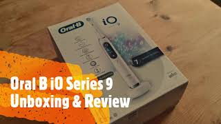 Oral B iO Series 9 - Unboxing and review - New flagship Oral B Electric Toothbrush