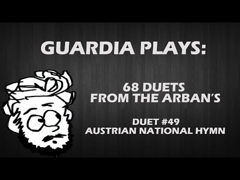 Guardia Plays - Arban's Duets - #49 Austrian National Hymn w/Play-along Section