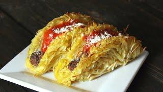 The Vulgar Chef   Spaghetti & Meatball Tacos