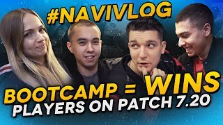 #NAVIVLOG: Bootcamp = Wins, Players on patch 7.20