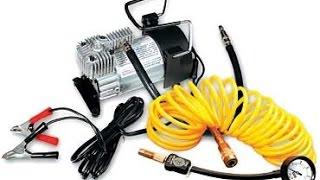 Компрессор для накачки колес на Шниву(Электрический компрессор Беркут r17, установлен стационарно ( по электро части), и включается дистанционно..., 2016-01-09T19:06:24.000Z)