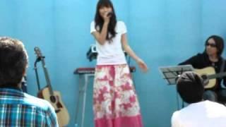 2010・5・01 ひるがの高原でのライブ.