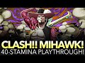 CLASH!! MIHAWK! 40-STAMINA PLAYTHROUGH! (One Piece Treasure Cruise - Global)