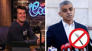 REAL LIFE: UK Demands KNIFE CONTROL!   Louder With Crowder