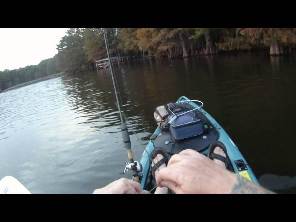 Kayak Fishing Lake Atkins Arkansas October 11th 2011 Youtube