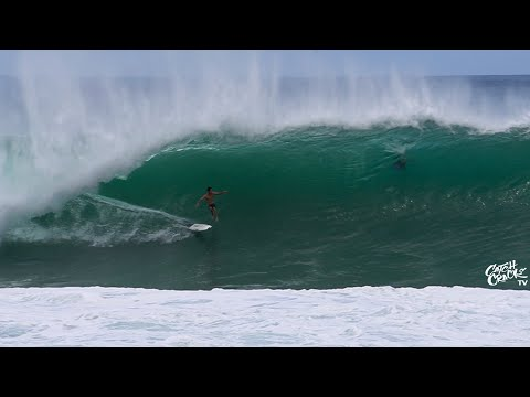 HEAVY PIPELINE Second Reef STILL Showing (RAW FOOTAGE) 2020