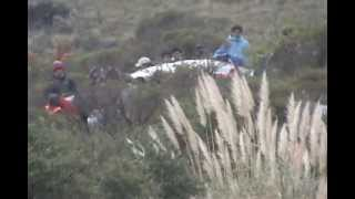 Rally Argentina 2013 accidentes tramo Ascochinga - Agua de Oro