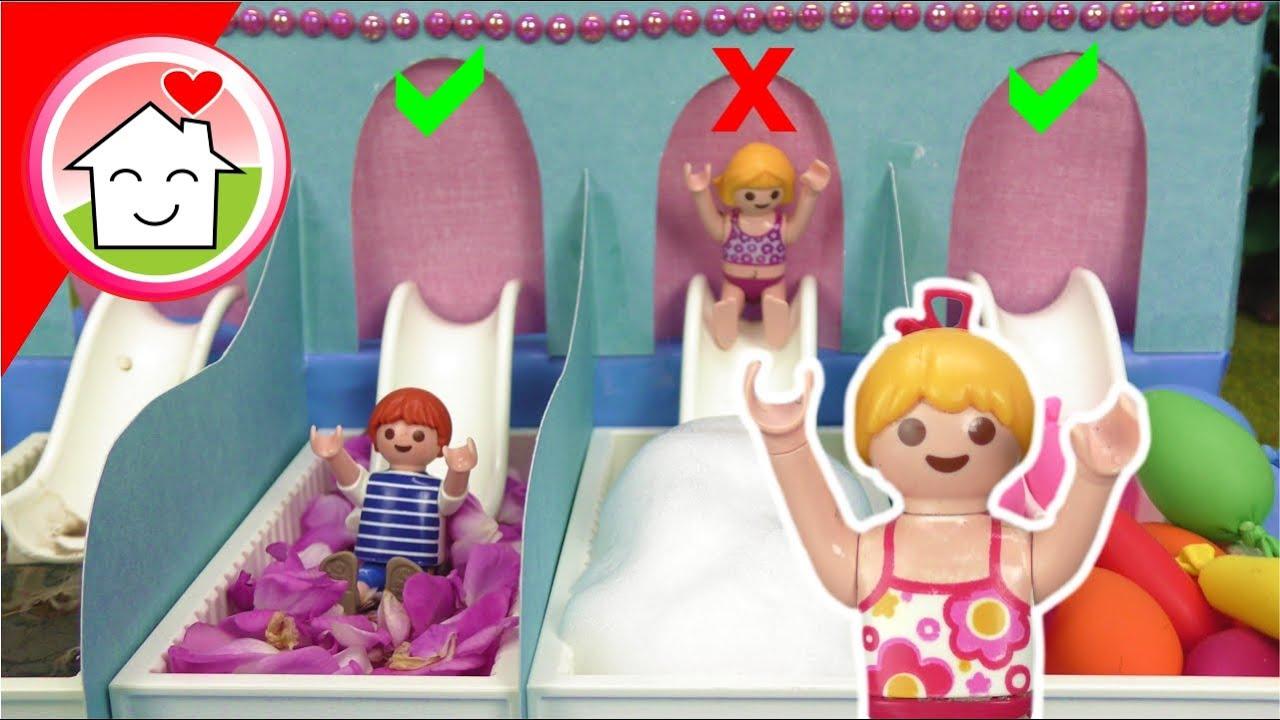 Download Playmobil Familie Hauser - Pool Challenge mit Lena - Kinderprogramm auf dem Campingplatz