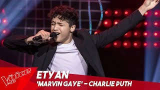 Etyan - 'Marvin Gaye' | Blind Auditions | The Voice Kids Belgique