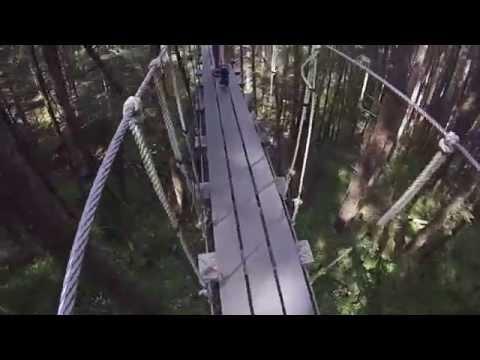 Juneau Alaska Zip Line.