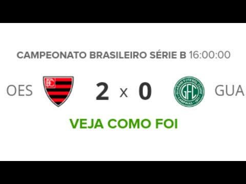 Oeste 2 x 0 Guarani - Melhores Momentos | Brasileirão Série B 01/05/19