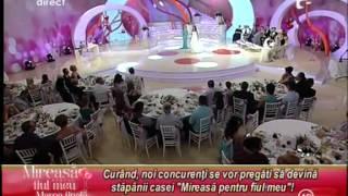 """""""Marea finala"""" la Mireasa pentru fiul meu!  25 /08/2012"""