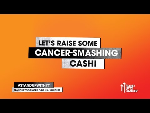 Stand Up To Cancer with YouTube 2017 - live from 5pm (UK time) Thursday 7 September!
