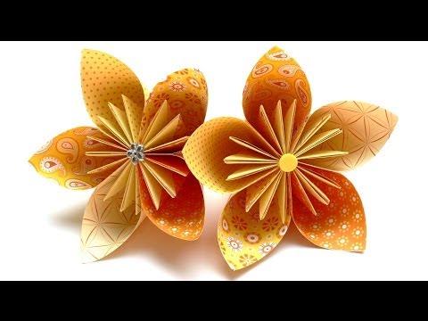 origami-blumen-falten---#03-fleurogami-blüte