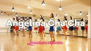 Angelina Cha Cha Line Dance (Beginner / Intermediate) Jessica Guu Demo & Count