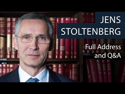 Jens Stoltenberg | Full Address and Q&A | Oxford Union