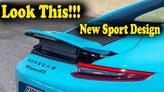 Look This!!! New Sport Design 2017 PORSCHE 911 CARRERA GTS