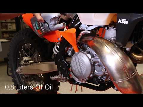 KTM Two-Stroke Oil Change - Cycle News