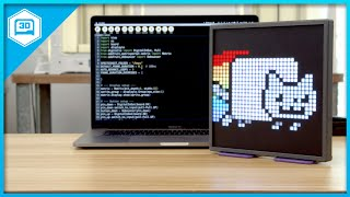 Square Pixel Display with RGB Matrix and CircuitPython