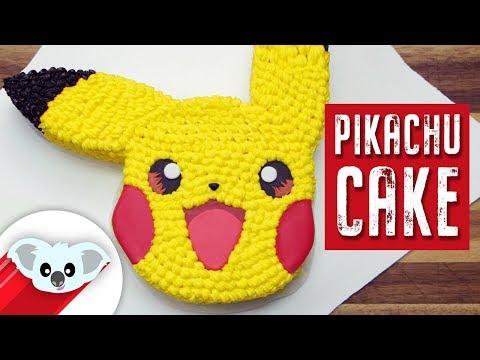 Pikachu Cake | Pokemon | How To