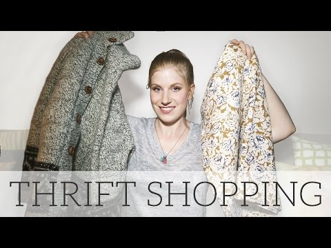 How to Thrift | Second Hand Shopping Tips + Haulternative