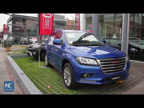 Chinese car brands make a splash on Chilean auto market