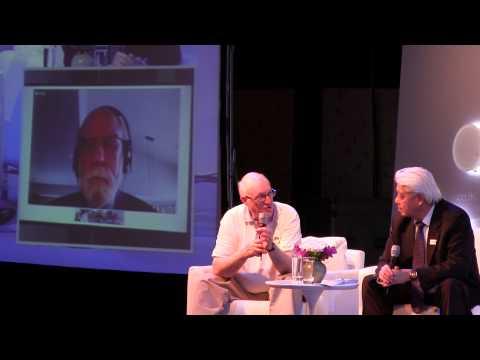 Dr. Vint Cerf and Dr. Steve Crocker at INET Bangkok's Opening ...