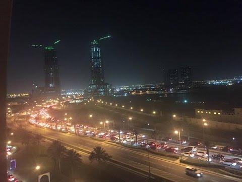 NEW SIGNAL AND NEW ROAD LAYOUT IN AL WAKRAH QATAR (QATAR)