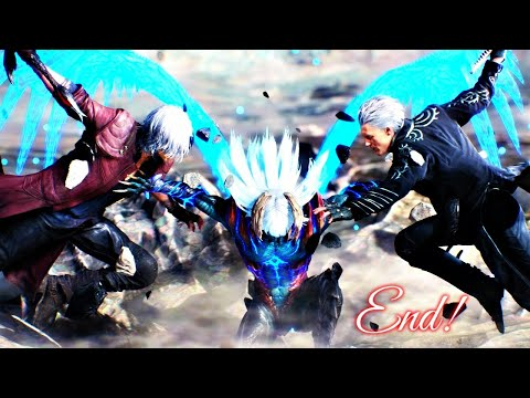 JACKPOT! - Devil May Cry 5 - ENDING GAME-PLAY REACTION! thumbnail