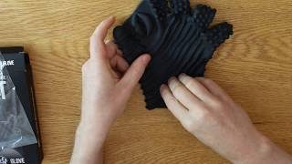 Glove videos Leather masturbation