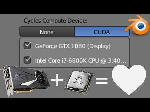 New Secret Feature) Render With GPU and CPU in Blender - YouTube