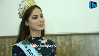 Miss World को ताज जित्ने श्रृङ्खलाको बाचा Interview with Miss Nepal Shrinkhala Khatiwada