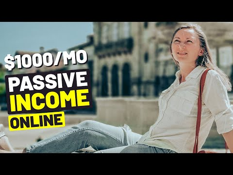 7 BEST PASSIVE INCOME IDEAS ONLINE In 2020 (that Earn $1000 Per Month Or More!)