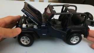 Maisto 1:18 Scale Jeep Wrangler Rubicon