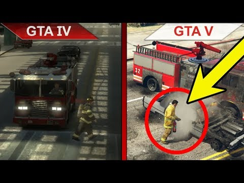 THE STRENGTHS OF GTA V - BIG GTA COMPARISON | GTA IV vs. GTA V | PC | ULTRA